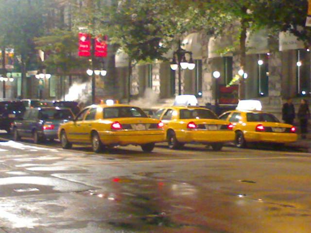 Traffic Jam in New York City