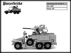 Lkw Krupp L2H 143 Kfz 81 de Panzerbricks