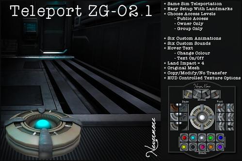 .NeverMore. Teleport-ZG-02.1