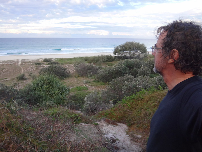 Neil in the Dunes