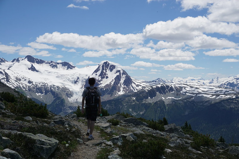Top of the world! Amazing hike at Whistler #Garibaldi Provincial Park #Whistler #Canada Day