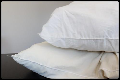 comment redonner vie des oreillers jaunis avec du d tergent lave vaisselle mamanpg pomme. Black Bedroom Furniture Sets. Home Design Ideas