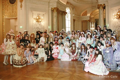 Angelic Pretty Tea Party Group Picture