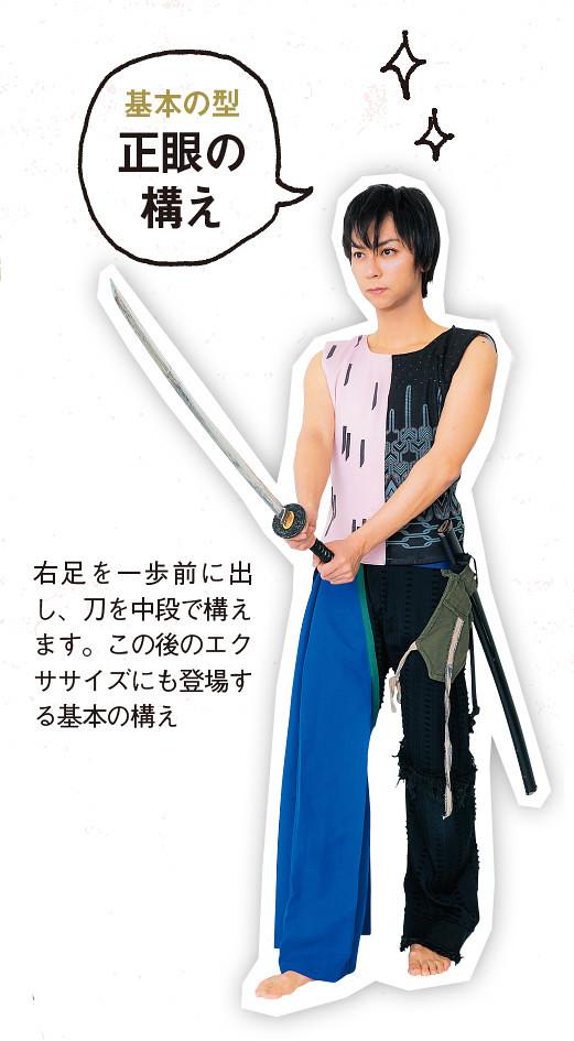 Japanese Girls Magazine Creates Touken Ranbu Exercise Plan