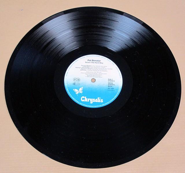 "PAT BENATAR SEVEN THE HARD WAY 12"" LP VINYL"