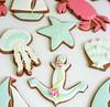 Seaside Cookies on Sweetopia