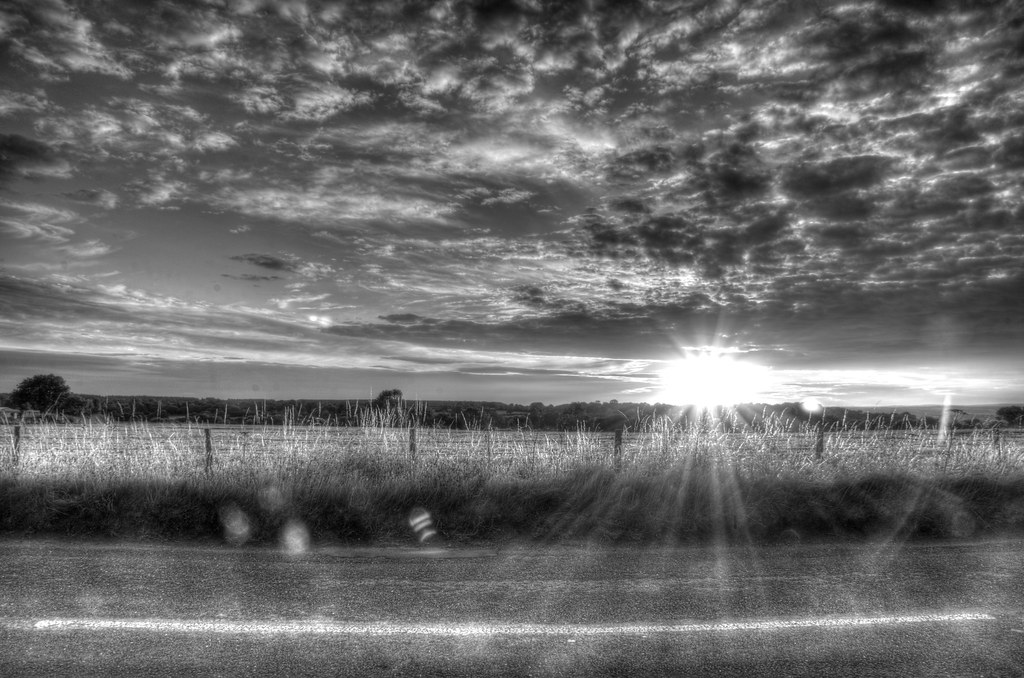 Black and White HDR