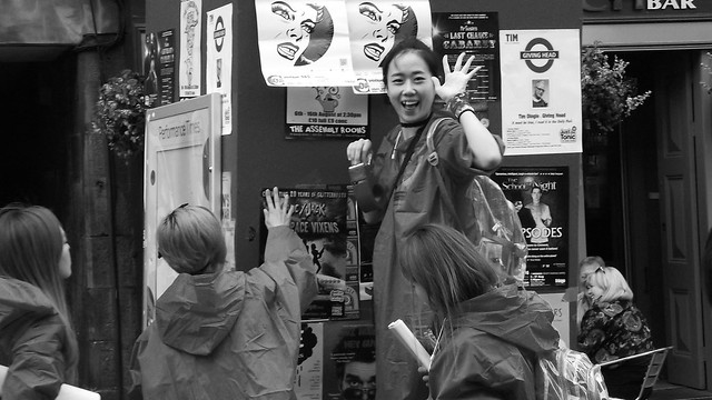 Edinburgh Fringe on the Mile 2015 01