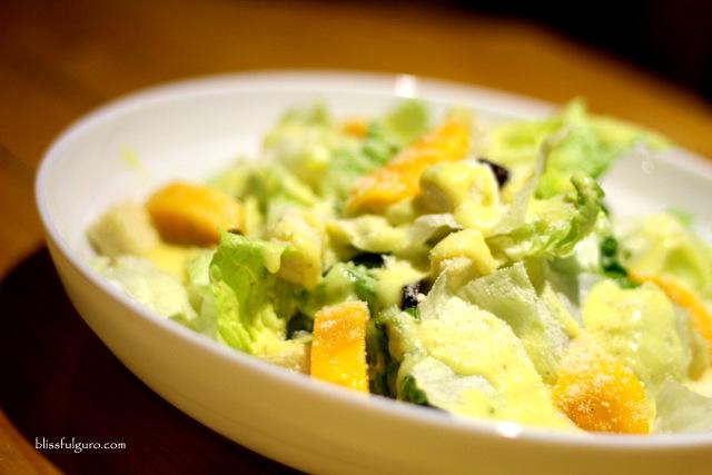 NYORK Cafe Cabanatuan Mango Salad