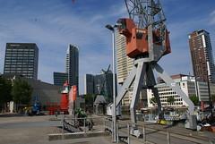 De Leuvehaven in Rotterdam