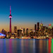 Toronto Skyline by Nik Coli-