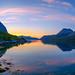 Grøtfjord nights II by John A.Hemmingsen