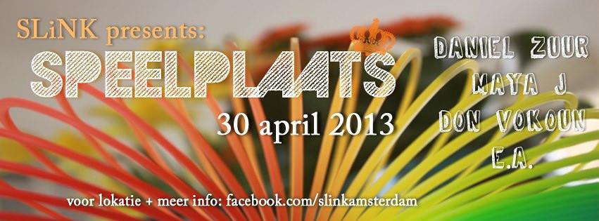 Slink's Speelplaats - 30-04-2013