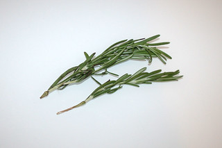 06 - Zutat Rosmarin / Ingredient rosemary