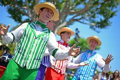 The Dapper Dans at the Disneyland Resort
