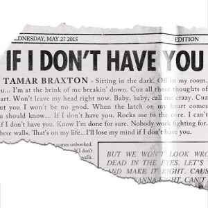 Tamar Braxton – If I Don't Have You