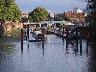 Three Mills Locks