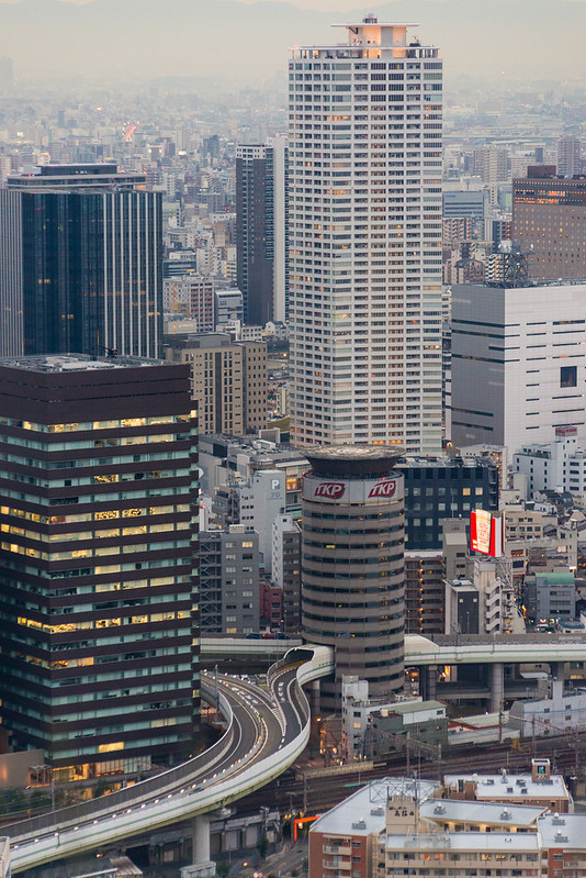梅田藍天大樓風景 / View From Umeda Sky Building