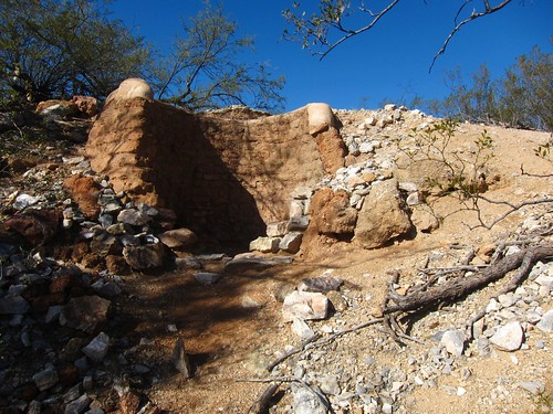 Saguaro Park East: Lime kiln remnants