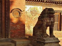 NEPAL,unterwegs  in der Königsstadt Patan, Lalitpur, am Palast  - Durbar Square, 15152