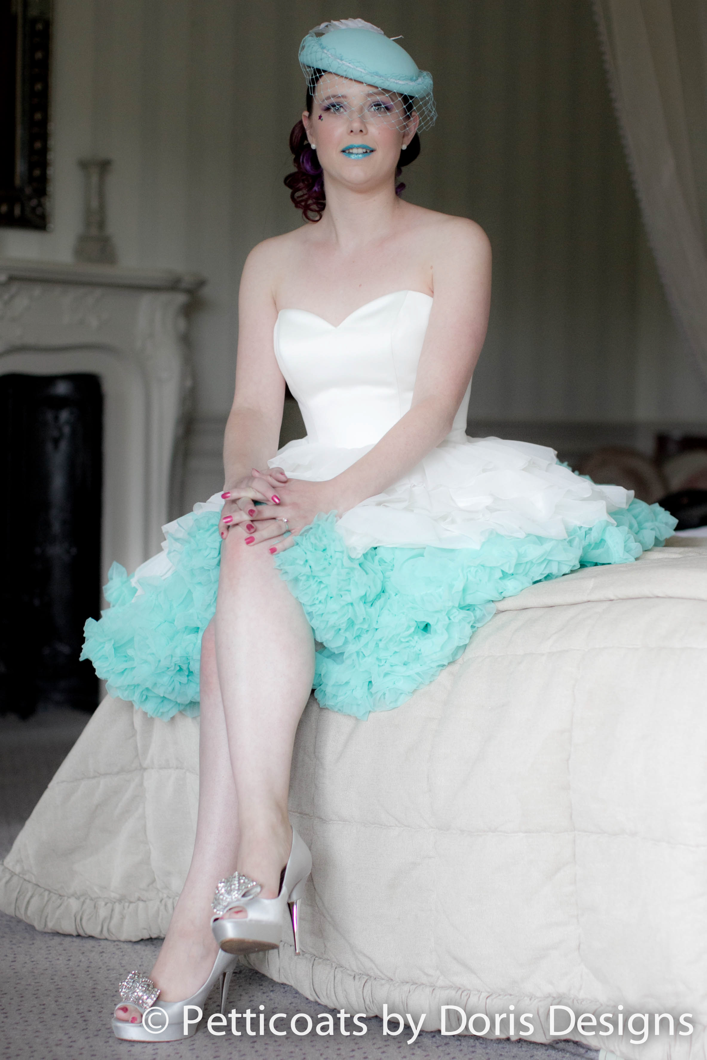 Fifties Style Petticoat - Doris Petticoats - Vintage Wedding Shoot