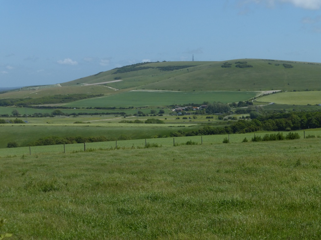 Section two from section one (anticlockwise) Lewes Circular walk