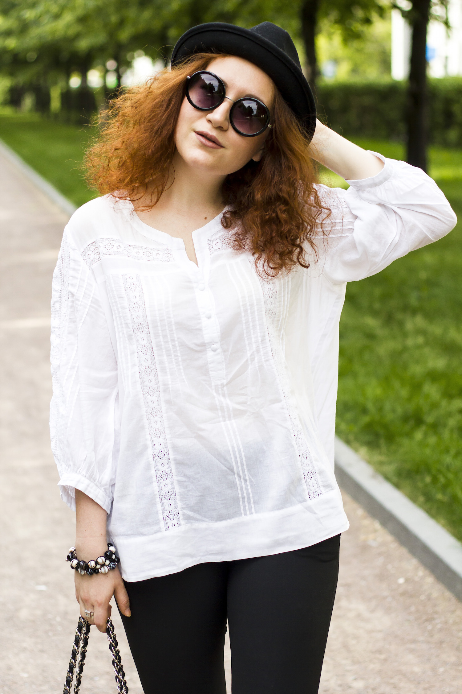 Enn Franco Says, Fashion blog, Outfit of the day, Chanel bag, Gerard Darel shirt, Marni sandals, Street style