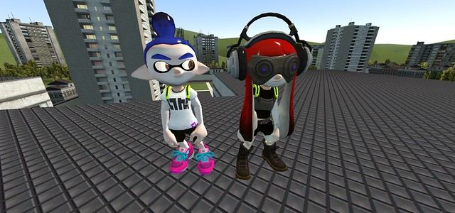 Splatoon's Inklings And Octo-Kids Splash Into Garry's Mod | One