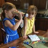 The build-your-own kaleidoscope was a big hit