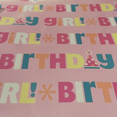 Wrapping presents for Christian's 17th birthday tomorrow!! One of my favorite things to do is pick out his wrapping paper! #birthdaygirl