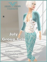 Paige Outfit July Group Gift