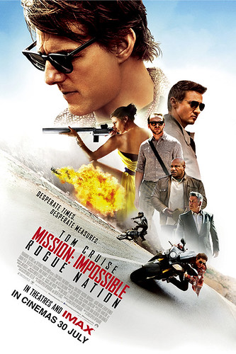 Tayangan Premiere MISSION: IMPOSSIBLE - ROGUE NATION