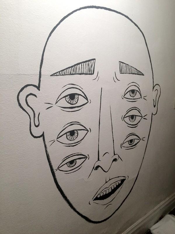 sixeye house mural