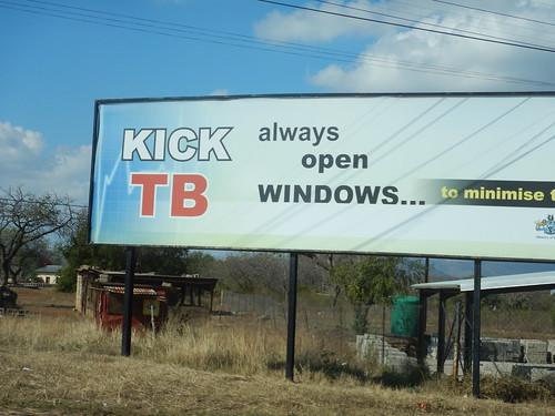 Always open Windows to minimise TB
