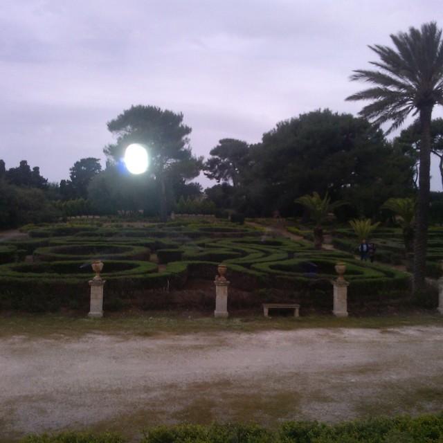 Labirinto di Siepi - Castello di Donnafugata a Ragusa