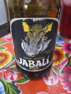 Cerveza Jabalí