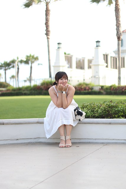 simplyxclassic, lulu's, white dress, little white dress, mango clutch, fashion blogger, mommy blogger, style blog,