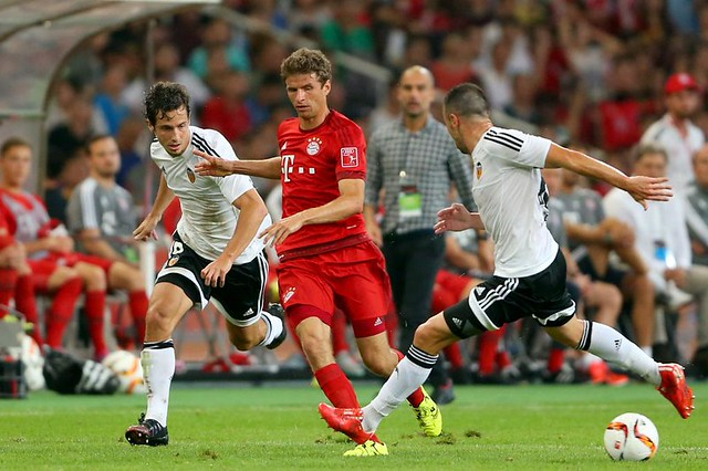 Amistoso: Bayern Múnich 4 - Valencia CF 1