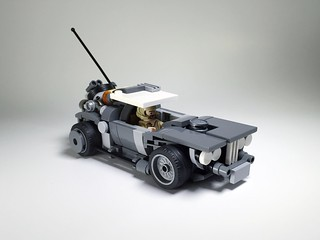 A mad max inspiration... With a bunch of other sci-fi bits thrown in...