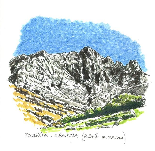 Curavacas (2.525 m.s.n.m.) Palencia