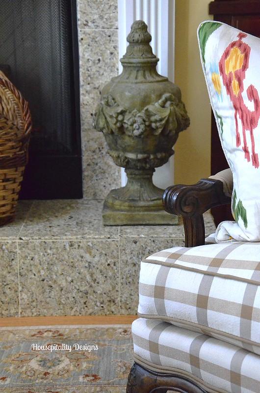 Garden Finial - Great Room Hearth - Housepitality Designs