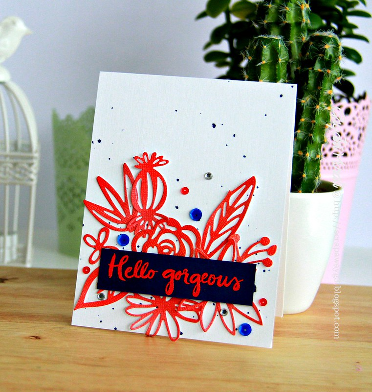 Hello Gorgeous card!