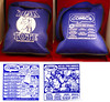 THE TICK TOTE BAGS FROM THE SAN DIEGO COMIC-CON 2015. by vsndesigns