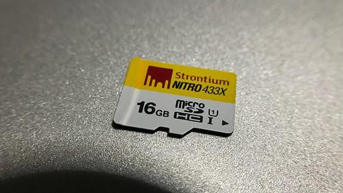 การ์ด 16GB แบบ Class 10 และ UHS-I Class 1