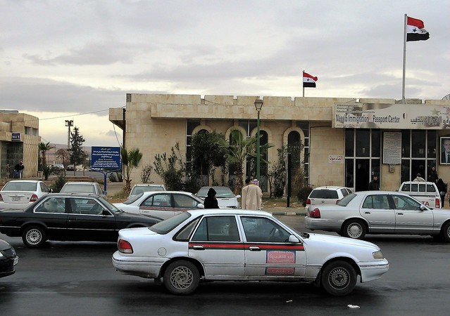 Nassib Immigration Passport Center Syria