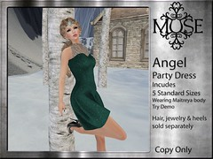 [MUSE] Angel Party Dress - V7