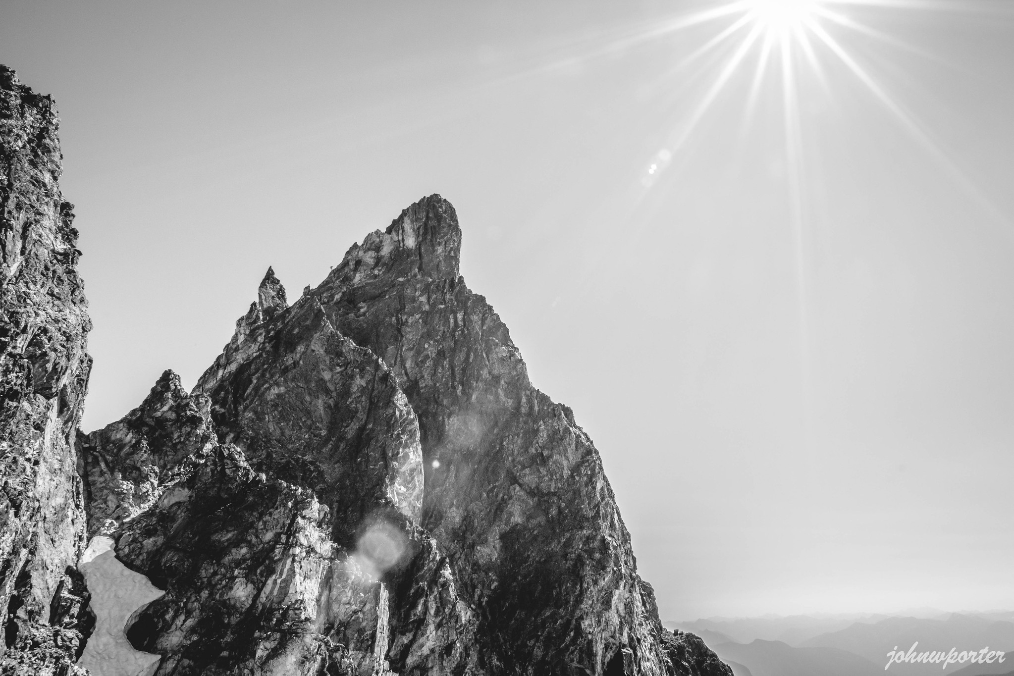 Southeast Mox Peak spire