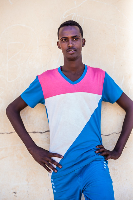 Young man portrait, Somaliland