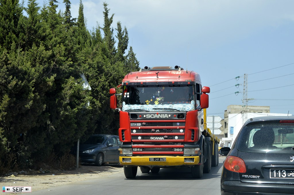 Scania 124G 360 Tunisia 2015