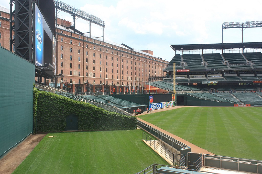 Oriole Park at Camden Yards, Baltimore, MD, USA, fotoeins.com